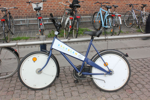 Dear Copenhagen bike share bicycle, I don't think we get along so I'm leaving you.