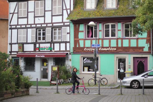 Nellie in Strasbourg, France.