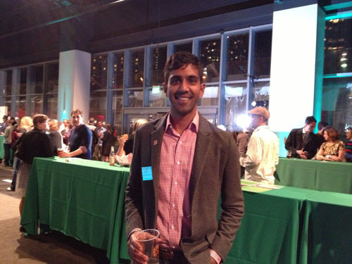 Neal Patel, Planning Director at the SFBC smiles for our camera.