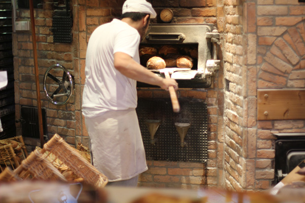 Au Pain de Mon Grand Pere boulangerie – I would love to get my bread from here.