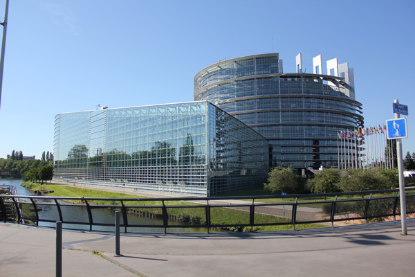 European Union Parliament building – amazing architecture!