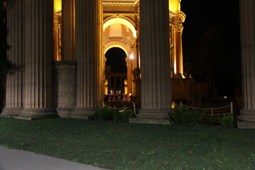 Ah yes, the Palace of Fine Arts. I will always remember the first time we stopped here and how special it was.