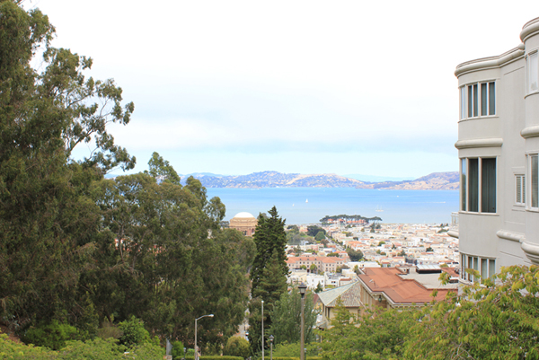 A view from Pacific Heights