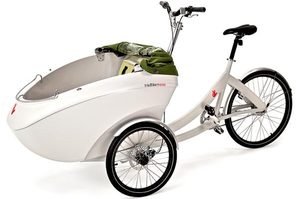 Trio cargo e-bike