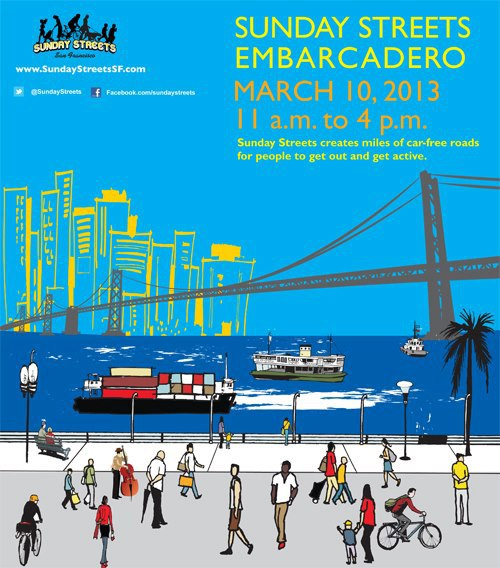 Come join the fun on the Embarcadero on 3/10!