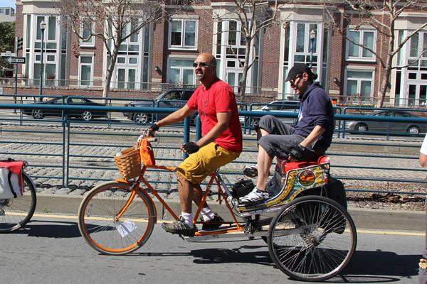 Hardeep Johar aka Deep always makes an appearance. Here he is giving Nio a ride.