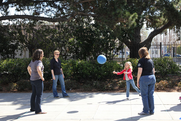 Remember four square!