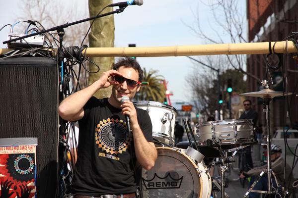 Paul Freedman aka Fossil Fool, founder of Rock the Bike.