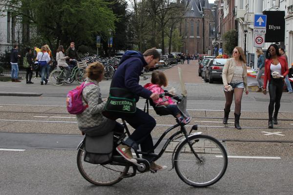 three on a bike
