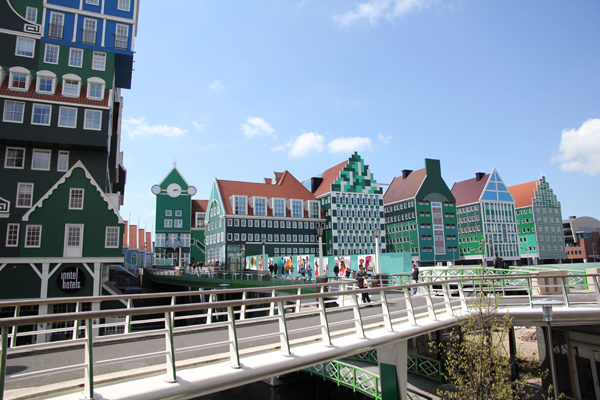 Pretty interesting buildings in Zaandam, a city north of Amsterdam