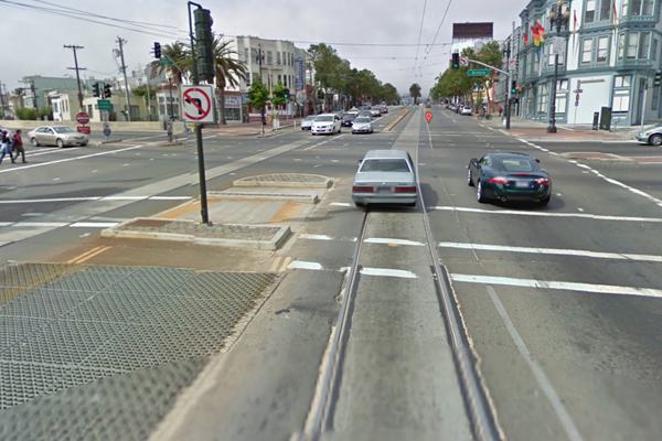 Market and Octavia. Image courtesy of Google Maps.