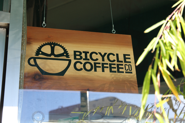 They also sourced their coffee locally from Bicycle Coffee.