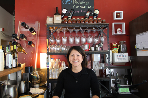 Here is Denise, the proprietor of Tay Ho Restaurant