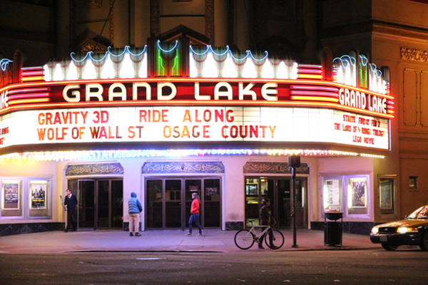 Grand Lake Theatre, a landmark situated in Grand Lake neighborhood.