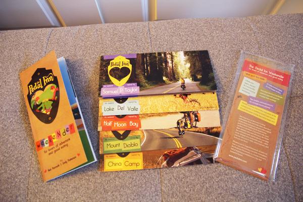 The Pedal Inn Weekender cookbook.
