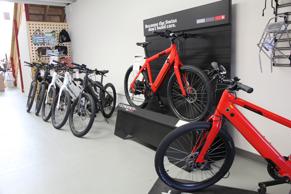 Stromer e-bikes is made in Switzerland.