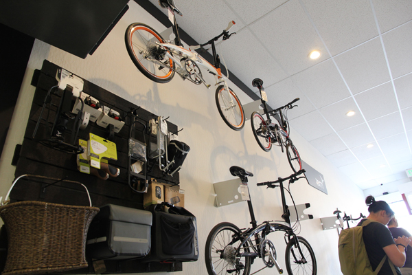 A nice setup for Tern bicycles.