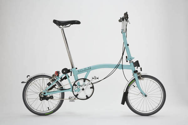 This is what a Brompton looks like.