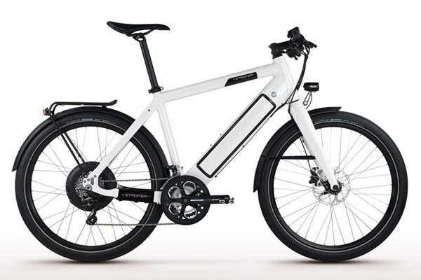 This is a Stromer e-bike.