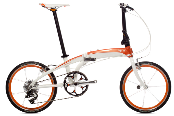 Tern and Dahon bicycles look like this.