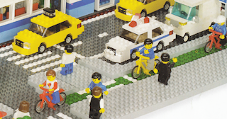 Lego's own cycle track