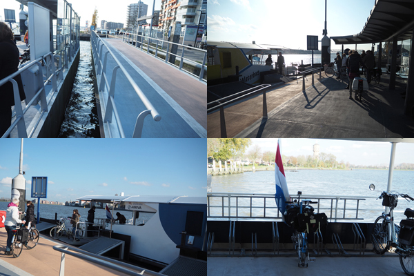 Waterbus station at Dordrecht.