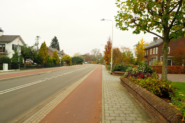 Beautiful cycle tracks in Dutch suburbs. Do you think your children would appreciate this?